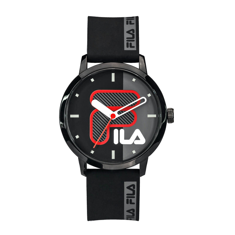 Picture of FILA Watch | 38-326-002 | Men's and Women's Black Analog Watch | Water Resistant