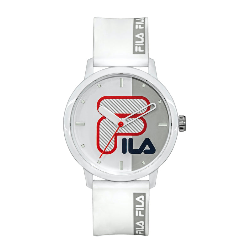 Picture of FILA Watch | 38-326-004 | Men's and Women's White Analog Watch | Water Resistant