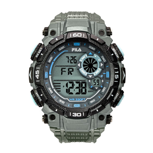 Picture of FILA | 38-826-004 | Men's and Women's Grey Digital Watch | Water Resistant | Stopwatch | Date Tracker | Alarm