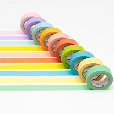Washi Tape - Light Colours 10