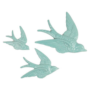 Swallow Wall Decorations Duck Egg Set Of 3