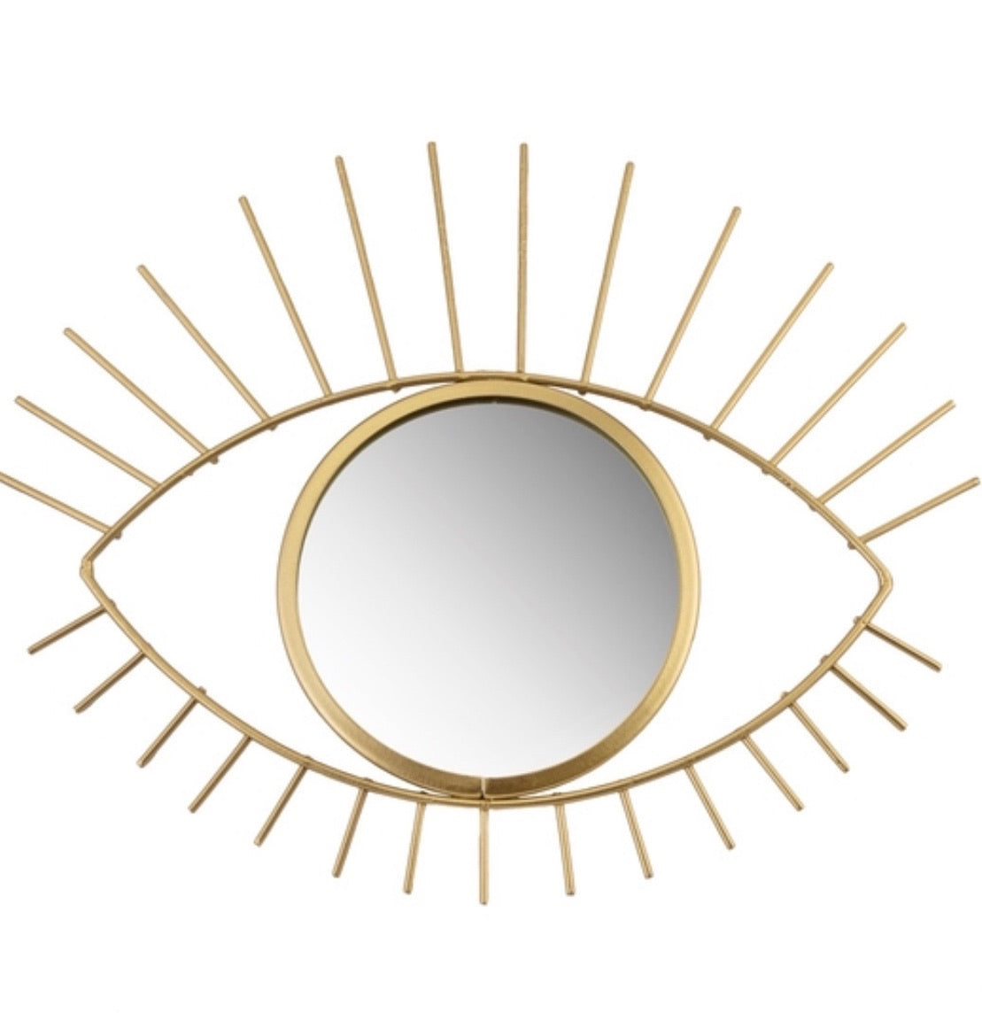 Small Gold Eye See You Mirror