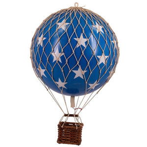 Floating The Skies. Blue Stars (small)