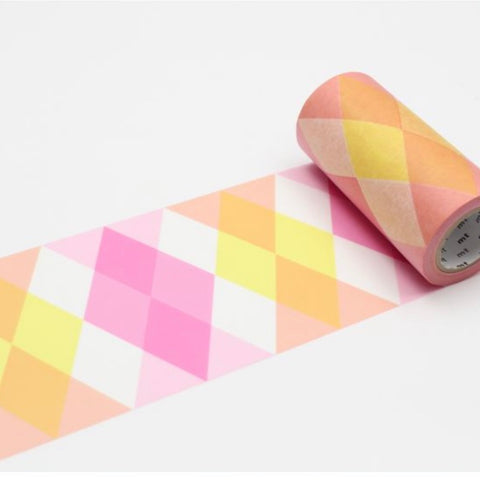 Washi Tape - Triangle and Diamond 100mm