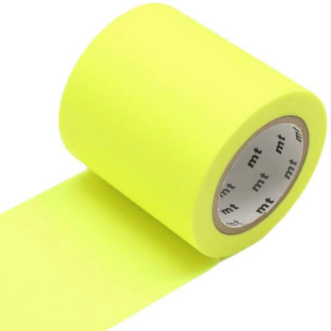 Washi Tape - Shocking Yellow 50mm
