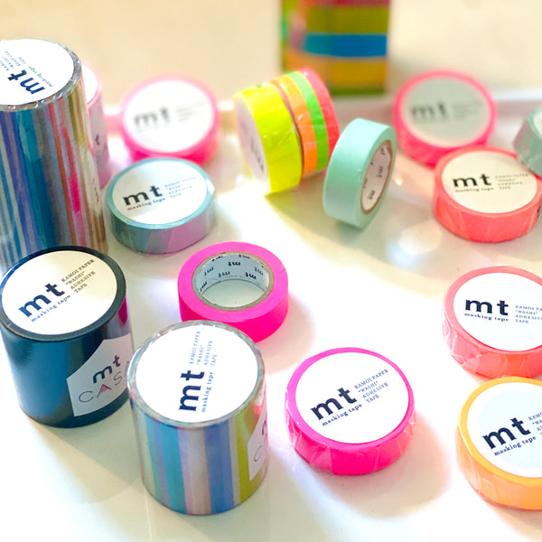 Slim Washi Tape - 3 rolls