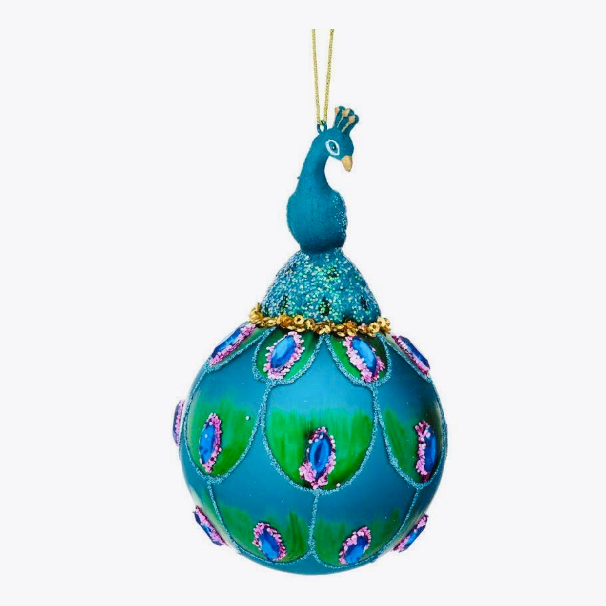 Peacock Bauble