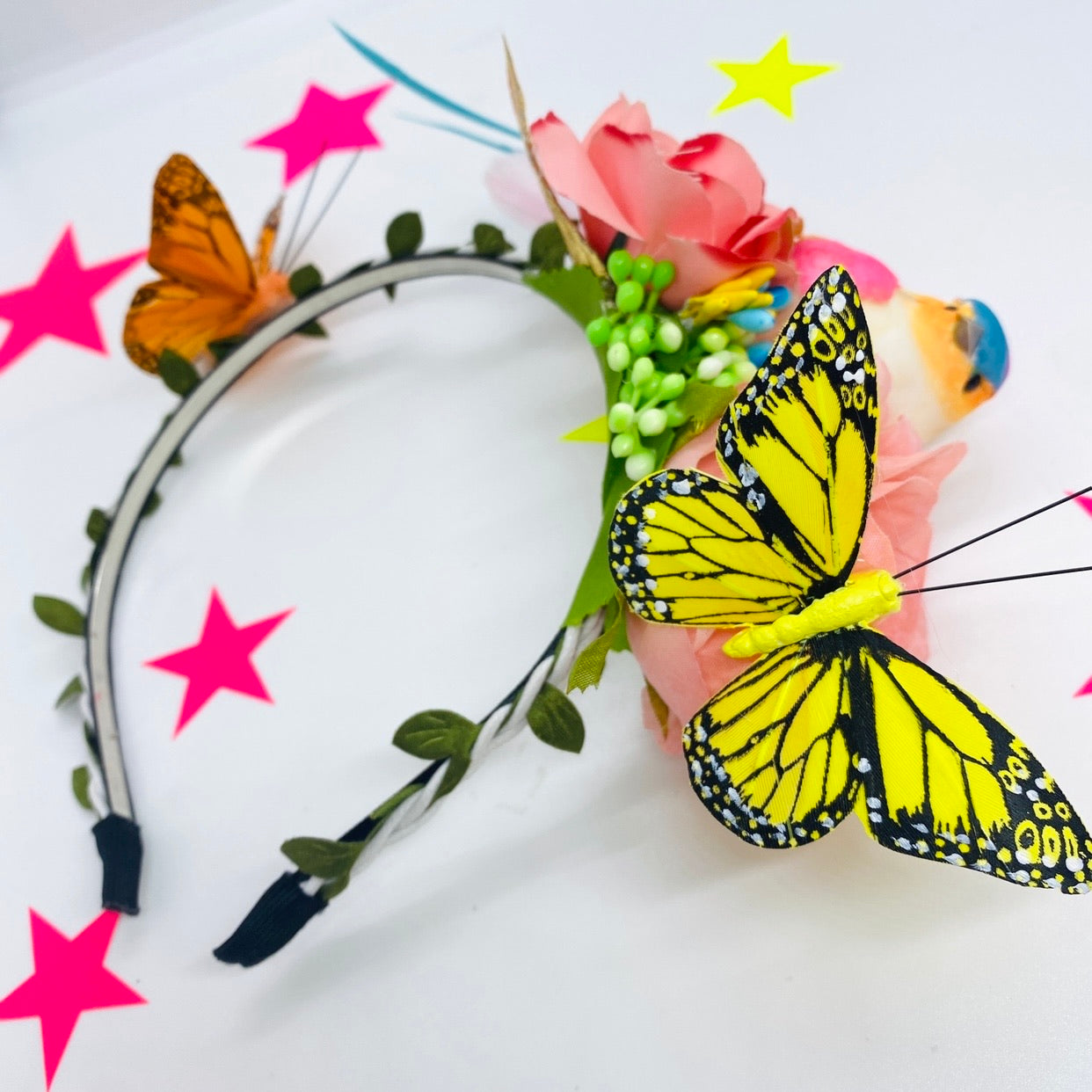 Bird and Butterfly Hair Band