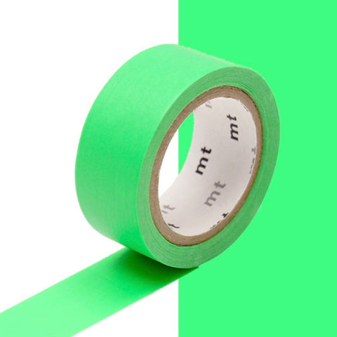 Washi Tape - Shocking Green