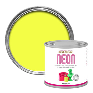 Yellow Neon Paint