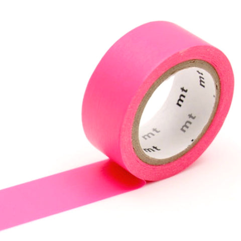 Washi Tape - Shocking Pink