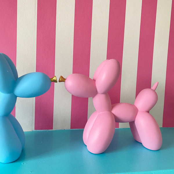 Large Balloon Dog Ornament Pink