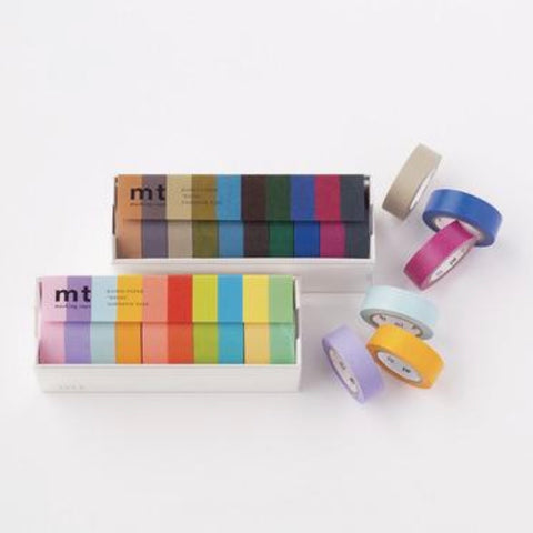 Washi Tape - Dark & Light Colours 20 Rolls