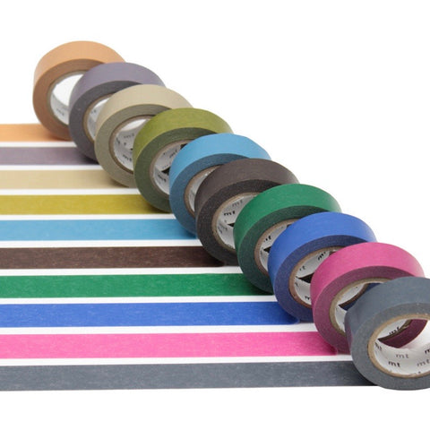 Washi Tape- Dark Colours 10