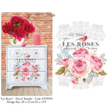 Load image into Gallery viewer, Les Roses - Hokus Pokus Transfer