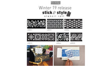 "Load image into Gallery viewer, Redesign Stick & Style Stencil - Cornelle Garden 10cm x 15mtrs roll (4"" x 15 Yard)"
