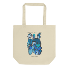 "Load image into Gallery viewer, ""Feeling Blue"" Tote Bag"
