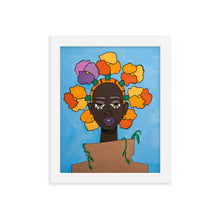 "Load image into Gallery viewer, Framed ""POTHEAD"" Print"