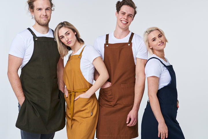 Cotton Canvas Aprons For Autumn