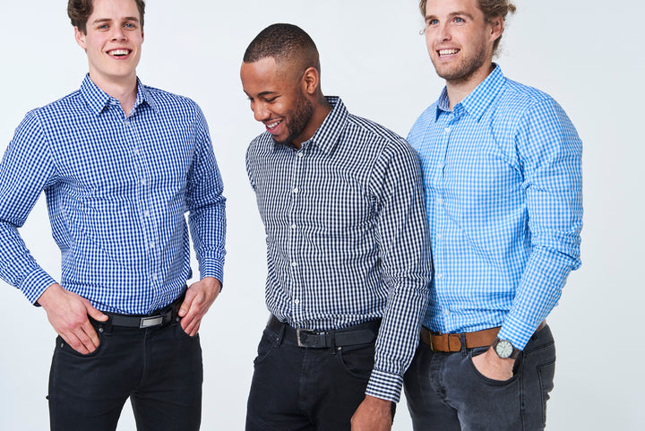 CHECKERED SHIRTS: Classic like a 1967 Mustang