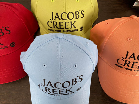 Jacob's Creek Hats - Urbanbar Design