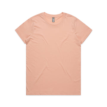 Miller Crew Neck T-Shirt Ladies - BLUSH