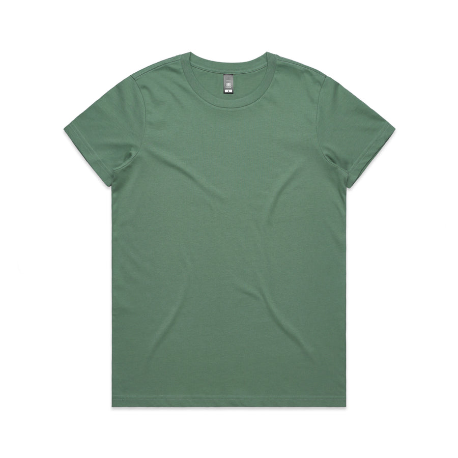 Miller Crew Neck T-Shirt Ladies - Sage