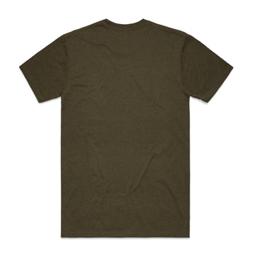 MILLER Crew Neck T-Shirt Men's - Army
