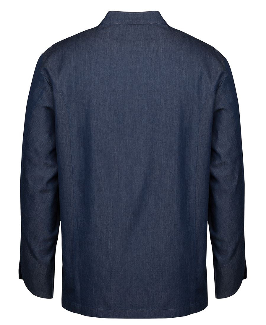 Denim L/S Chef's Jacket