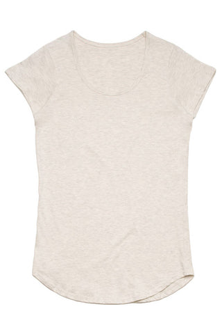 UBD Cooper Scoop Neck T-Shirt Mens - Ashphalt Marle