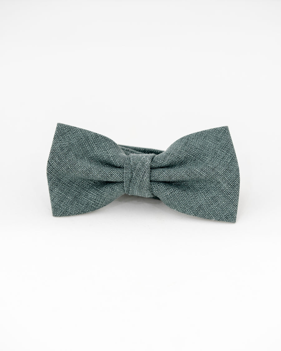 MEYER Linen Bow Tie - Forest