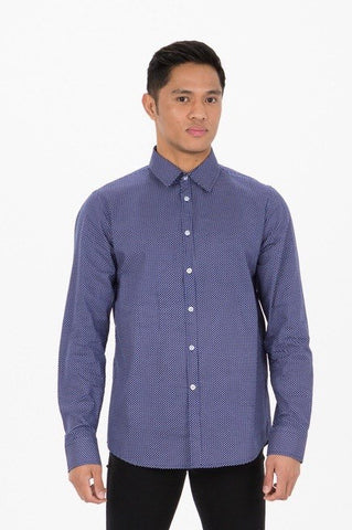 UBD 2 Pocket Denim SH/ SLV Shirt DEXTER - DARK INDIGO