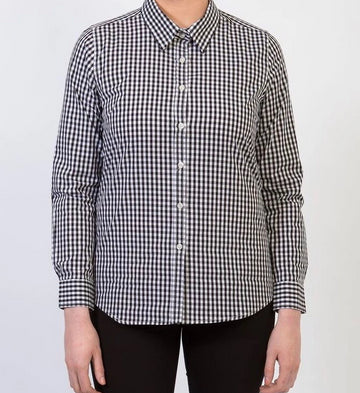 TEDDY Essential Gingham Woman's Shirt - Black
