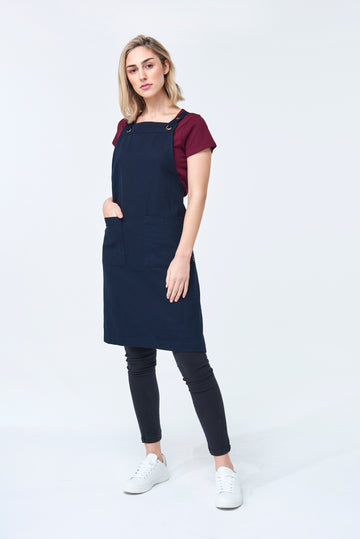 ASPEN Apron Duck Canvas - Ink Navy