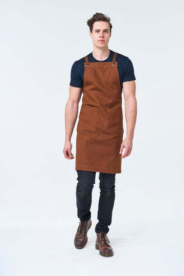 ASPEN Apron Duck Canvas - Tan