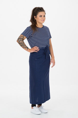UBD Essential Full Length Waist Apron NAVY