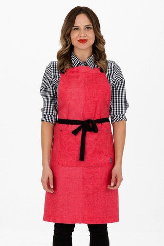 UBD Pu Leather Strap Apron  THEODORE V3
