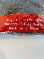 Clic Haricots Tortues Noires