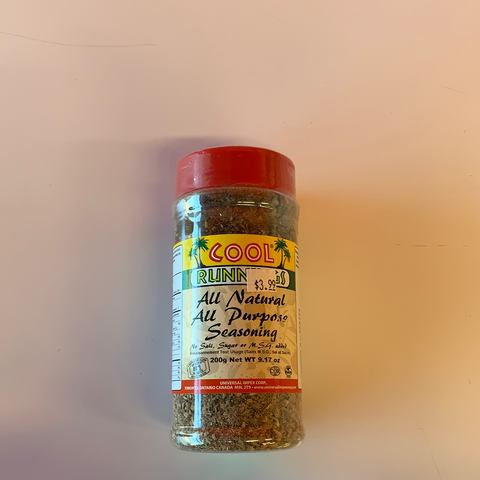 Cool Runnings All-Natural, All-Purpose Seasoning
