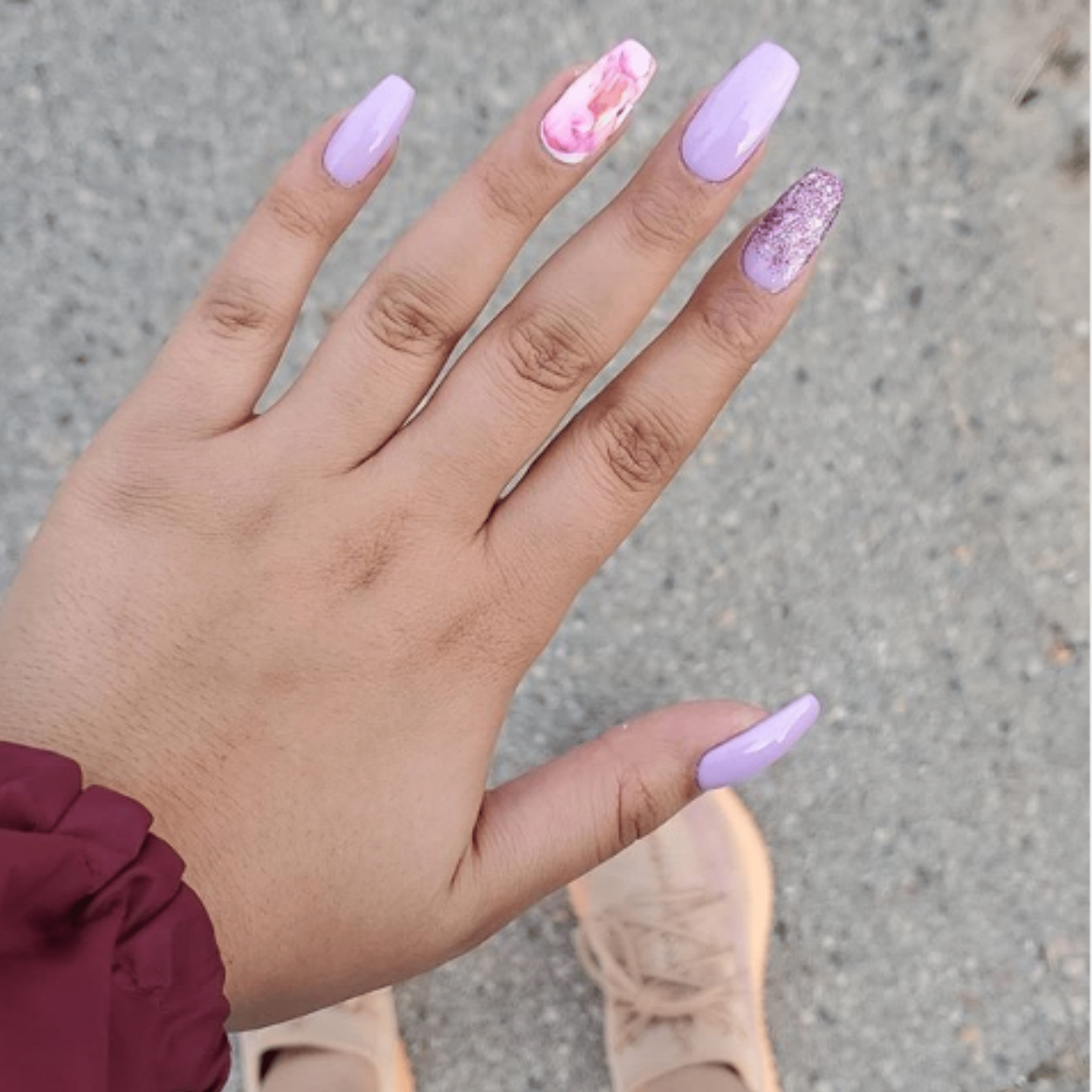 Lavender Lush Set - Natasha's Nails