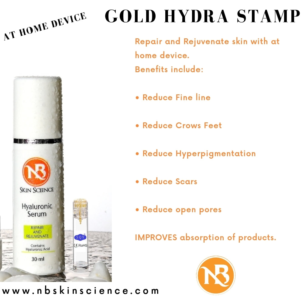 Hydra Gold Derma Stamp