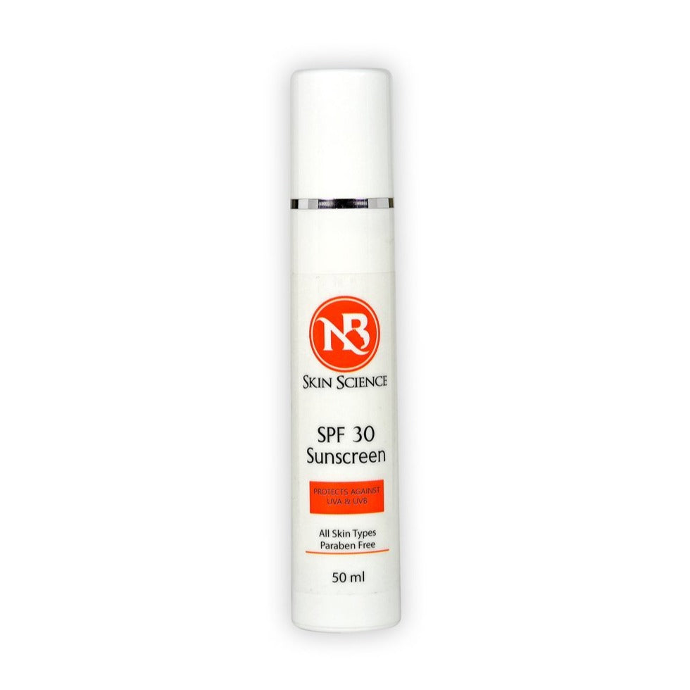"SPF 30 ""All skin types""- 50ml"