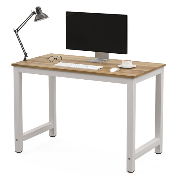 Mecor 43inch Large MDF Computer Office Desk PC Laptop Table Study Work-Station Home Office Furniture