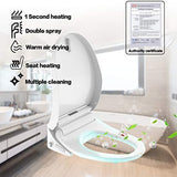 Mecor Smart Toilet Seat #001 with Water Pressure Adjustment(4 level)