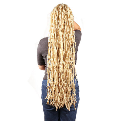 "Color #613 - 36"" Nu Locs Crochet Braiding Hair - 3 Packs"