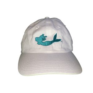 MN Mermaid White Hat