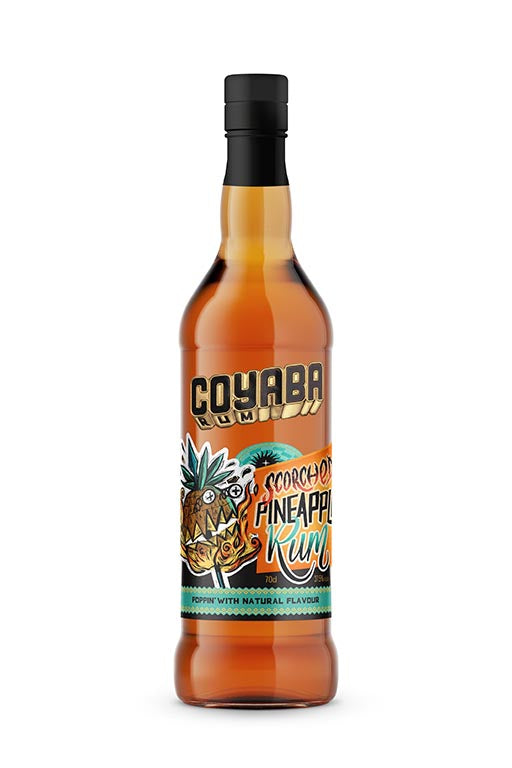 Coyaba Scorched Pineapple Rum 37.5% ABV