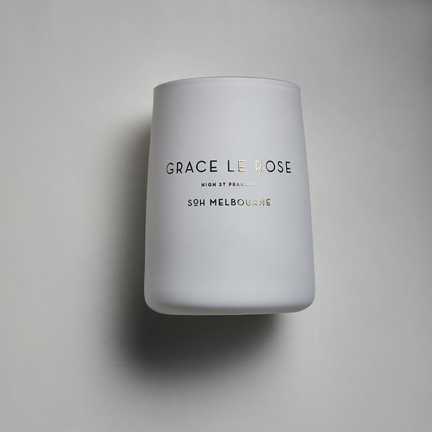 SOH Melbourne Candle Grace Le Rose