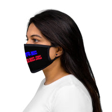 Load image into Gallery viewer, PURE VIBEZ (BL/Red) Fabric Face Mask