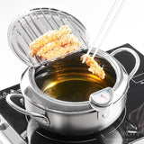 Deep Frying Pot With Temperature